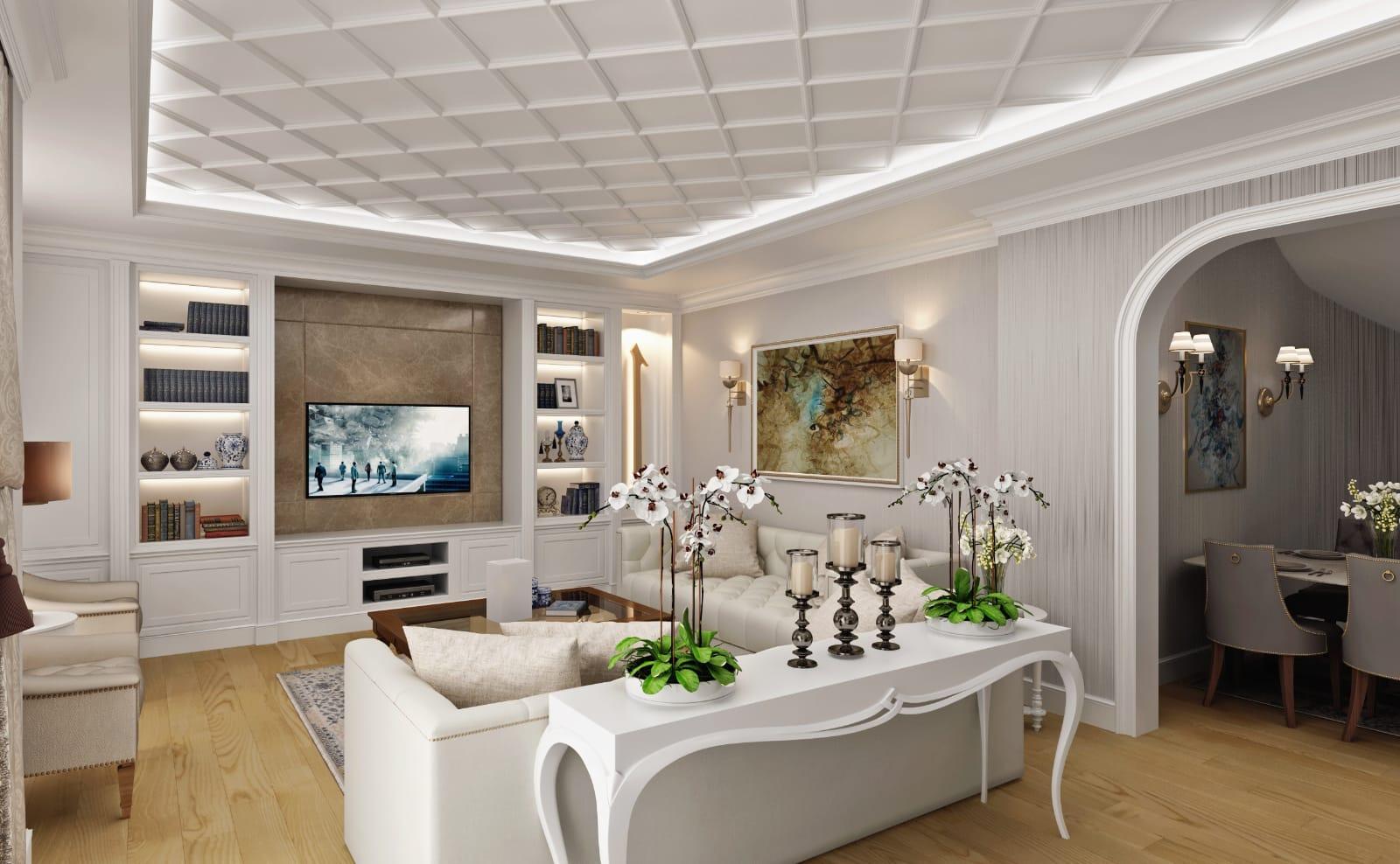 çamlıca villa salon