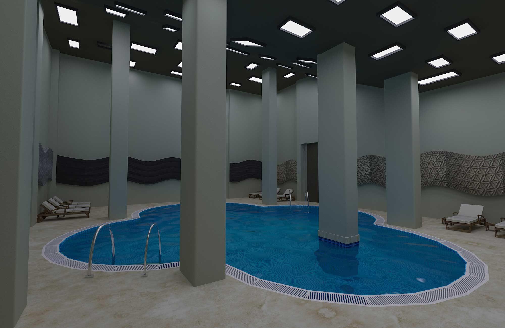 Şehr-i Sefa Konakları - Havuzlar