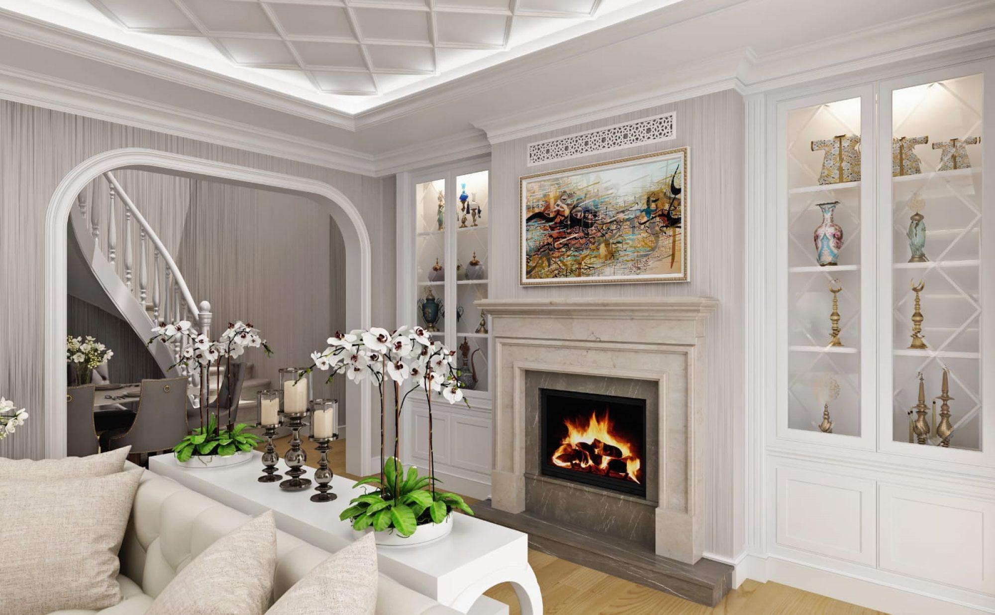 Çamlıca Villa - Salon